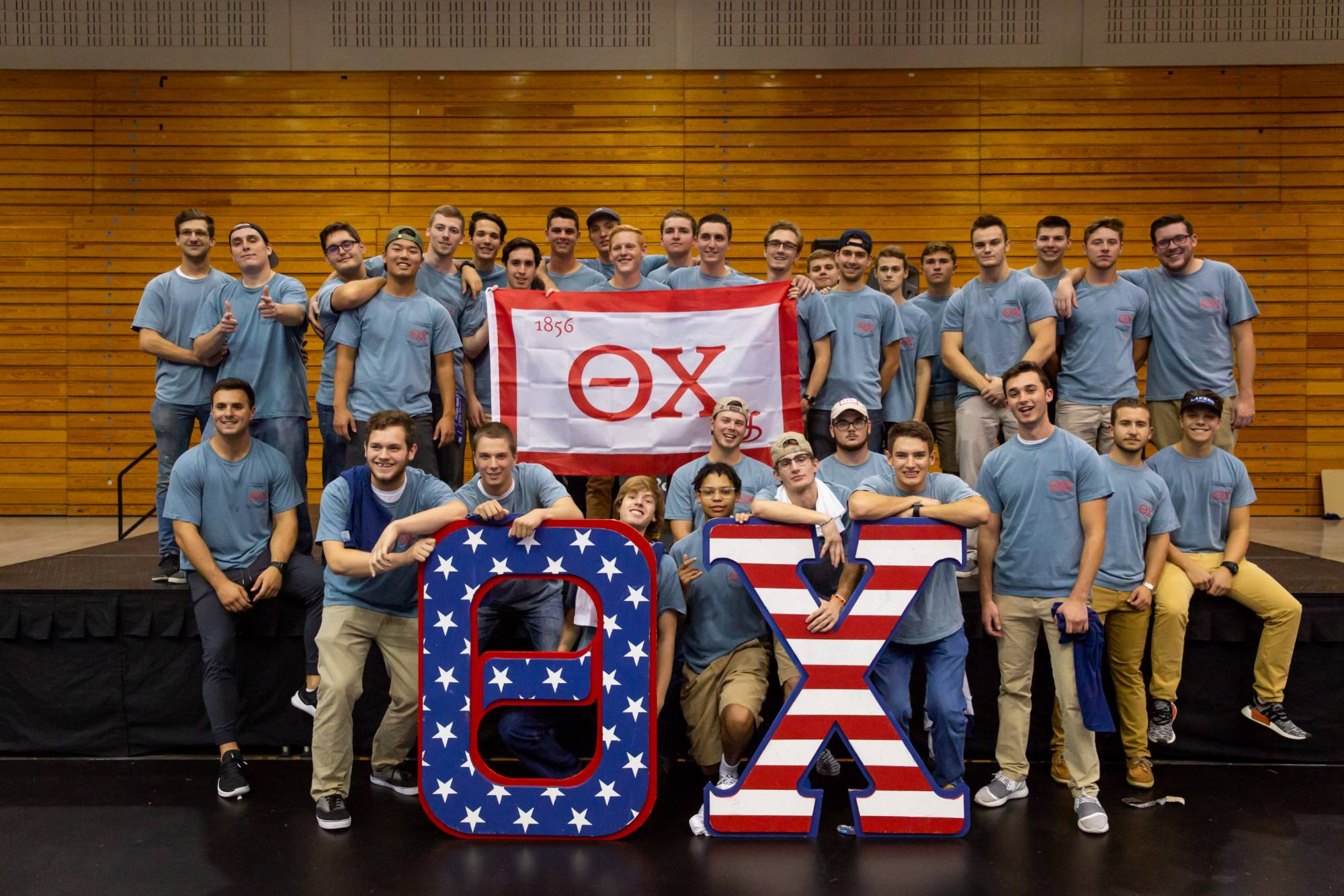 Theta Chi fraternity chapter at GVSU.
